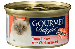 Tuna Flakes with Chicken Breast