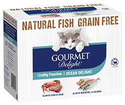Ocean Delight 12 x 80g Pouch Multi-pack